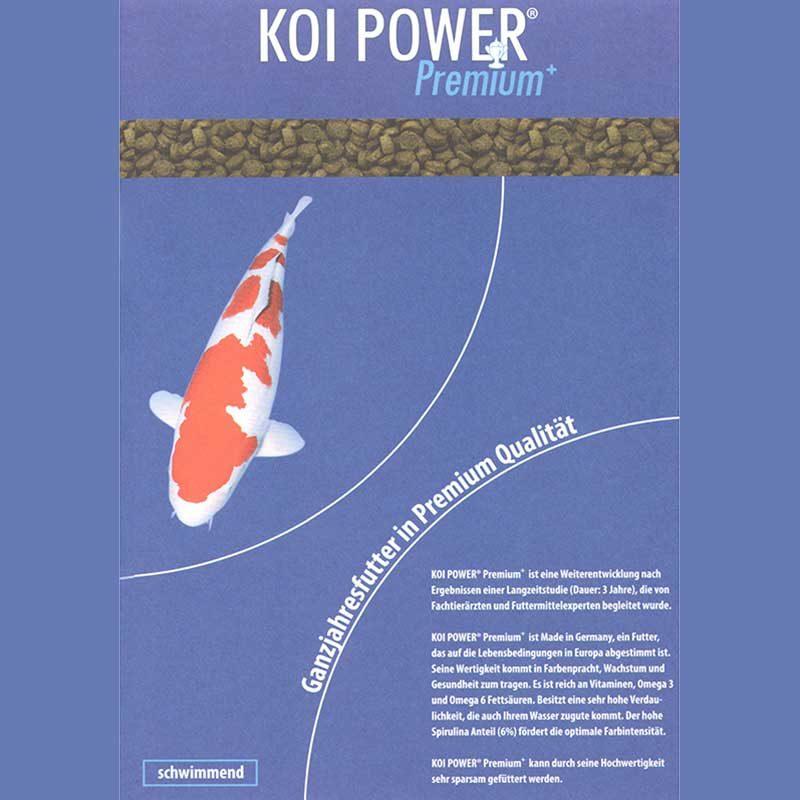 Etikett Koi Power Premium schwimmend