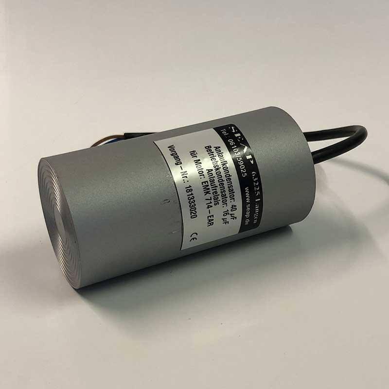 Anlaufkondensator fuer Getriebe Motor IMG 7673